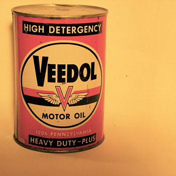 My favorite oil can, with memories - Petroliana
