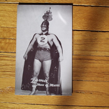 Zuma Arcade Card Man of Mars 1950's - Cards