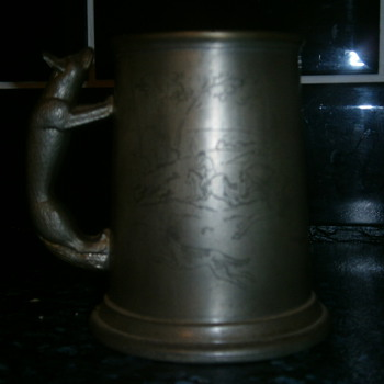 fine english pewter - Breweriana