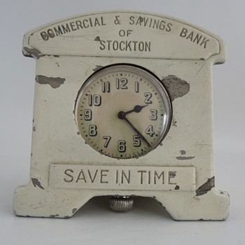 Pocket Watch Coin Bank