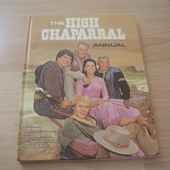 THE HIGH CHAPARRAL - Books