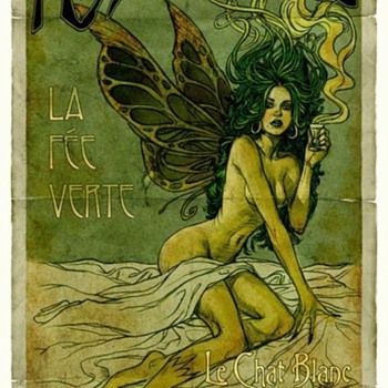 The Green Fairy - Advertising
