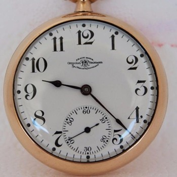 @ rniederman.... 1918 Ball RailRoad Official Standard Pocket Watch