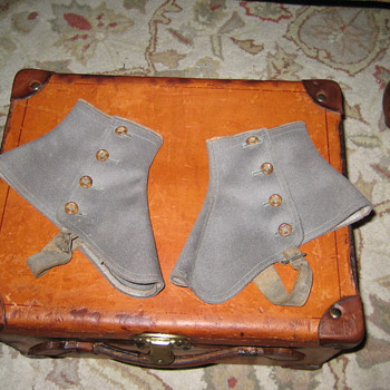Antique English Made Spats - Accessories