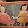 Portrait of 2 children from around the 20's?
