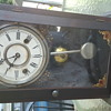older clock made in Connecticut very little identifying marks