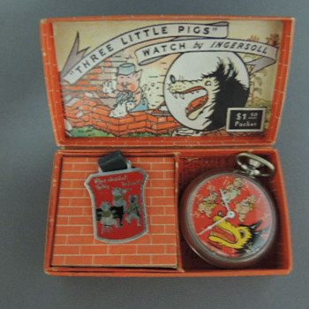 Big Bad Wolf Pocket Watch