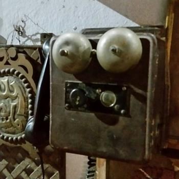 Ericsson wooden crank phone