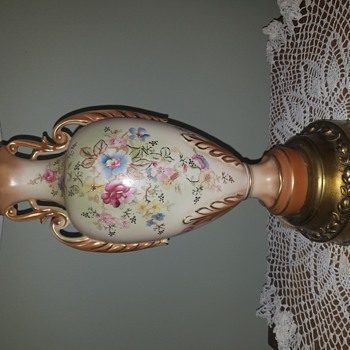 My Favorite  Lamp, do not know it's value or the maker