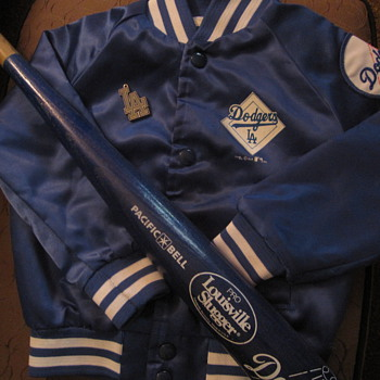 My Army sons' Dodger Jacket 1990 - Baseball