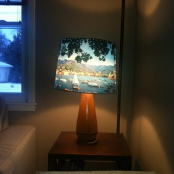 Vintage sailboat lamp - Lamps