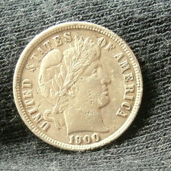 1900 and ? Barber Dimes - US Coins