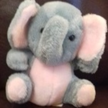 pink and grey elephant - Animals