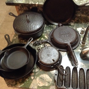 Group of Cast Iron Cookware