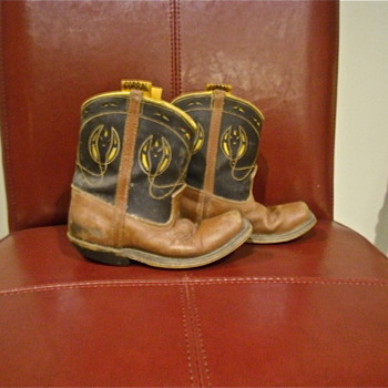 My own 1964 Corral Cowboy Boots