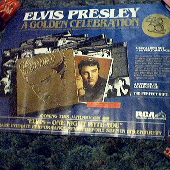 VERY RARE Elvis HBO Poster