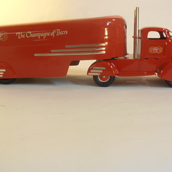 Custom 1930's Streamlined COE Beer Truck
