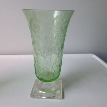 A pretty vase