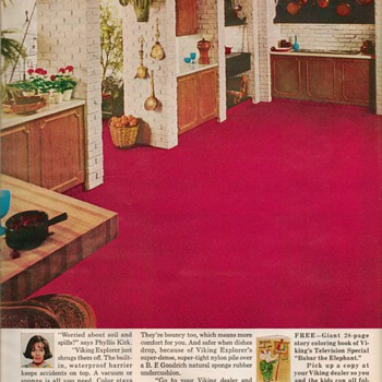 1968 - Viking Carpet Advertisement - Advertising