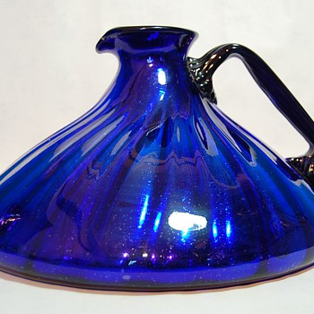 Big Blue Cobalt Pitcher