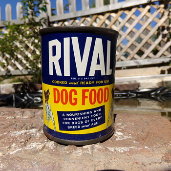 Rival Dog Food - Advertising