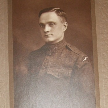 78th Division WW1 soldier - Military and Wartime