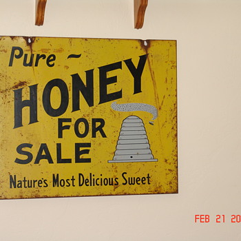 Honey Sign - Signs
