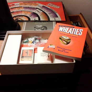 Wheaties &quot;The breakfast of champions Sport Trivia Game. - Games