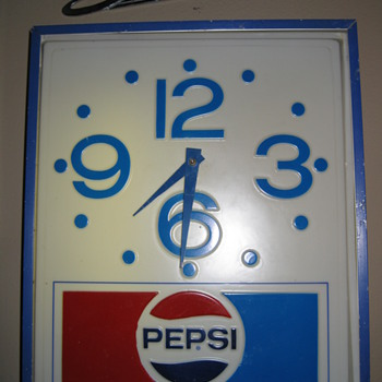 Pepsi Clock - Advertising
