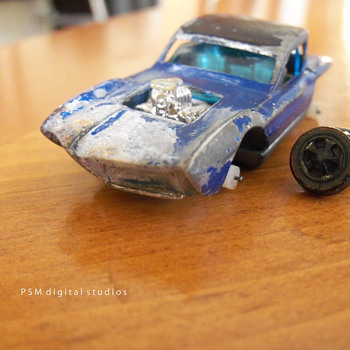 Mattel HotWheels Redline 1967 Python Restored