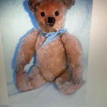 Antique bear.