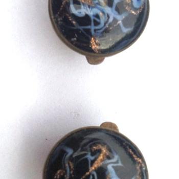 English Victorian period cufflinks
