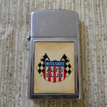 United States Auto Club lighter - Tobacciana