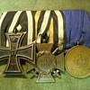 WWI Iron Cross medal sets