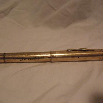 Gold filled parker fountain pen circa 1913 - Pens