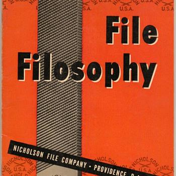 1950 - Nicholson File Company Booklet