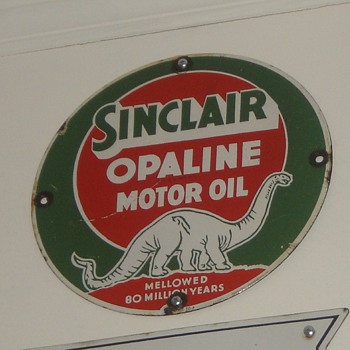 Sinclair Dino Sign - my fav dino sign - Advertising