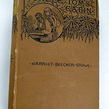 Uncle Toms Cabin 1888 Harriet Beecher Stowe - Books