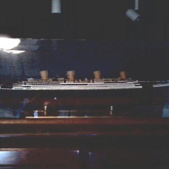 "My ""Titanic"" Model / Built 1986"