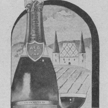 1955  Chauvenet Wine Advertisement - Advertising