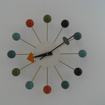 George Nelson Ball Clock - Clocks