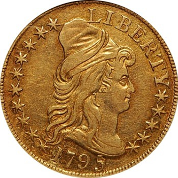 1795 $5 Gold Half Eagle - US Coins