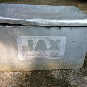 Jax Brewery Aluminum Ice Chest