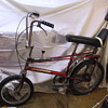 raleigh chopper from an antque store