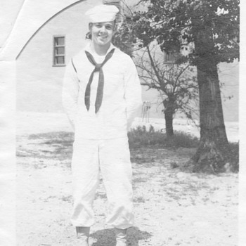 1940's My dad In Navy - Military and Wartime