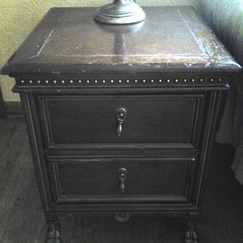 Identify this nightstand's era, please!