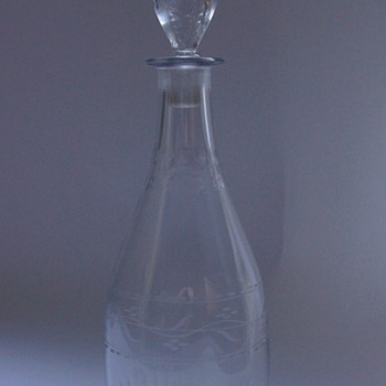 A Georgian Tapered Decanter