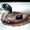 Nice Little Mallard Duck Planter / Unknown Maker and Age