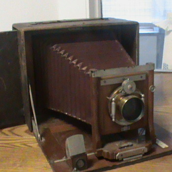 Manhattan Optical Bo Peep Model B Camera 1890's - Cameras