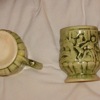 unusual mugs - Art Pottery